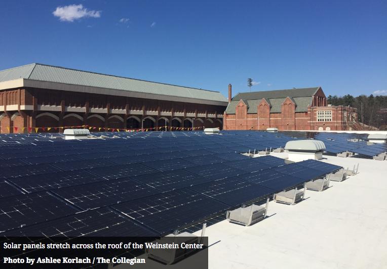 Weinsten Center Solar Array